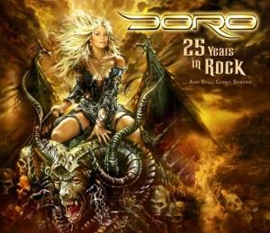 Doro-25YearsInRock-Artwork